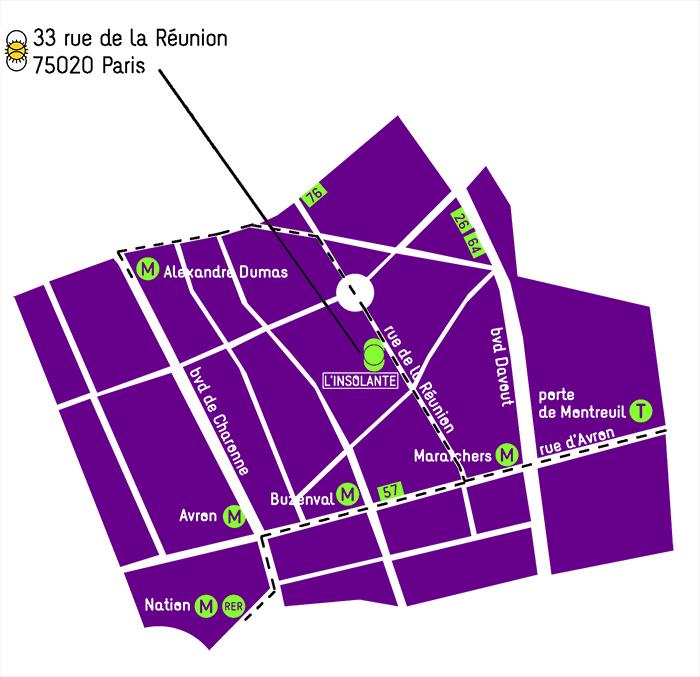 l insolante plan de quartier